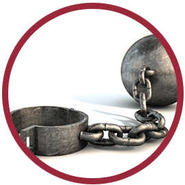Ball & chain and the weight of unforgiveness