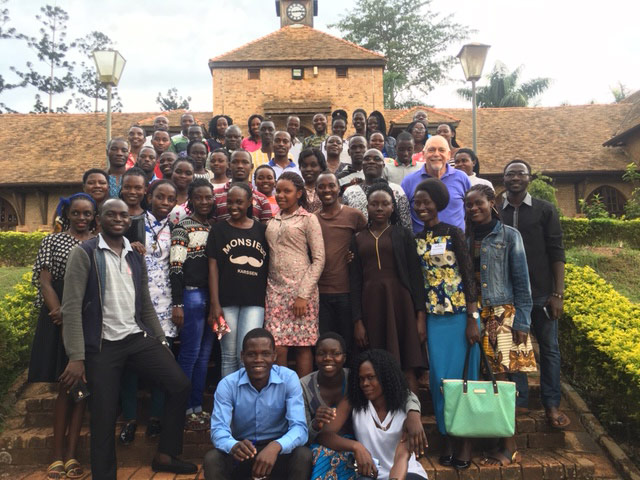 Hope For The Heart International Ministry in Ugandan Christian University