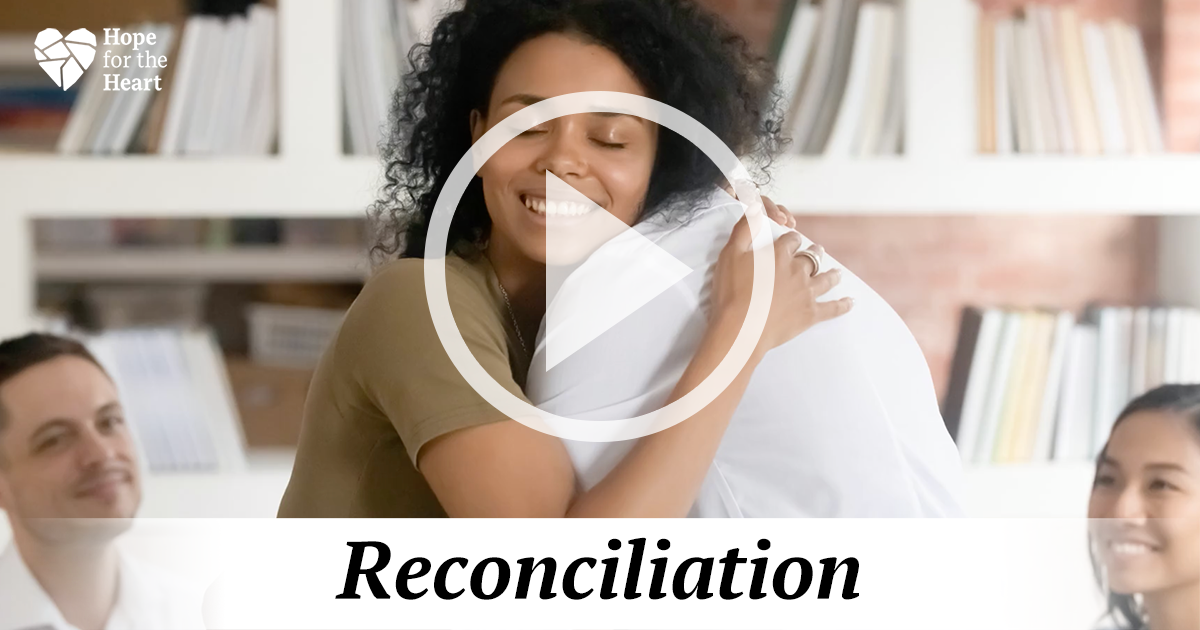 Reconciliation and Relationships