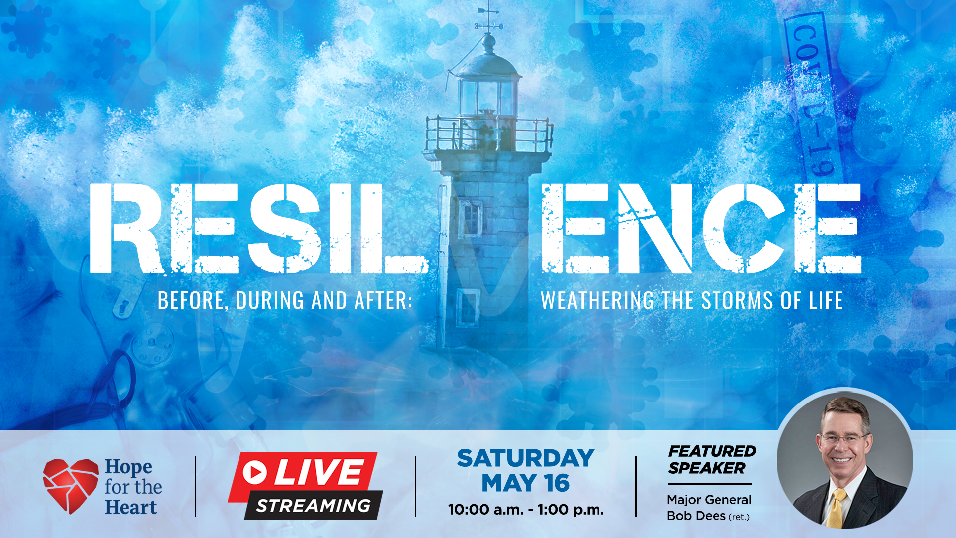 Resilience Symposium – 3 hr. Live Streaming