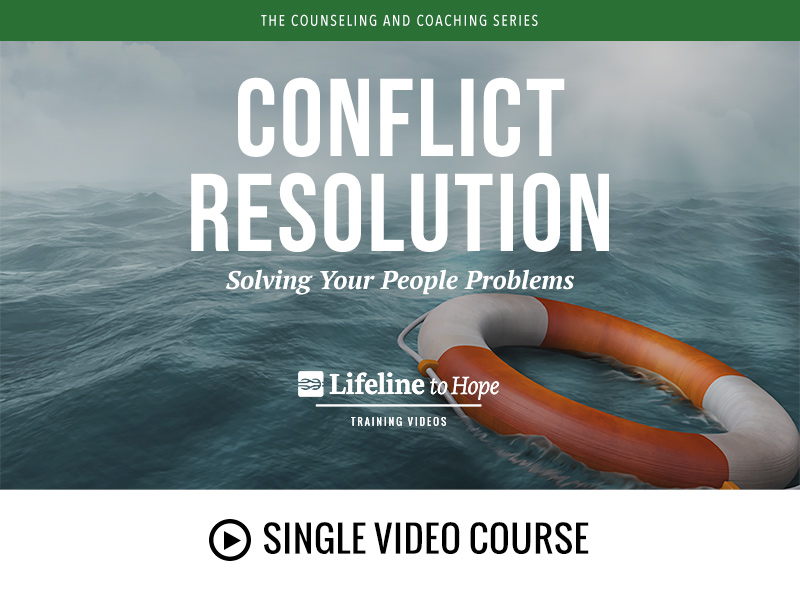 Conflicting Resolution - single video course