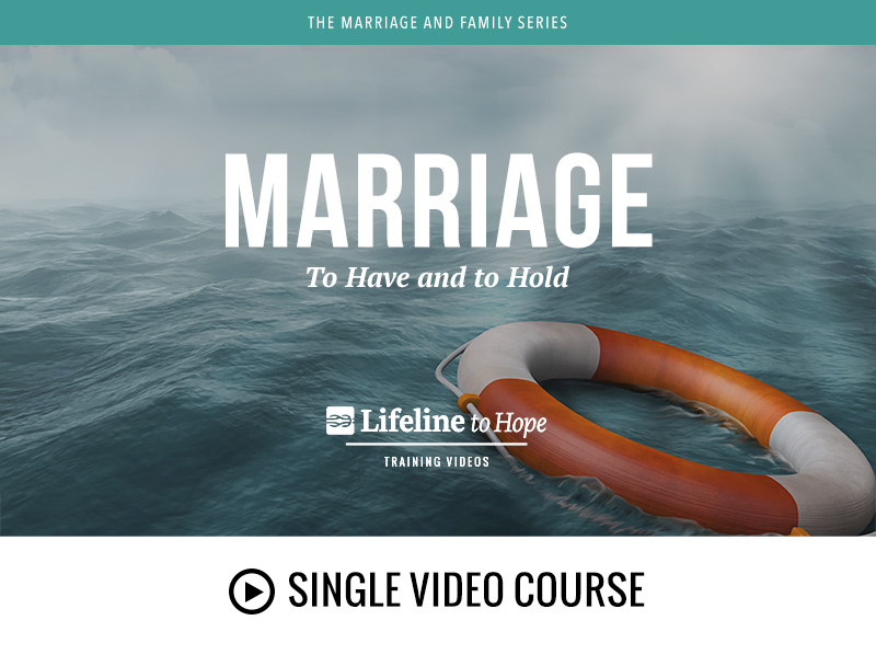 Marriage - single video course