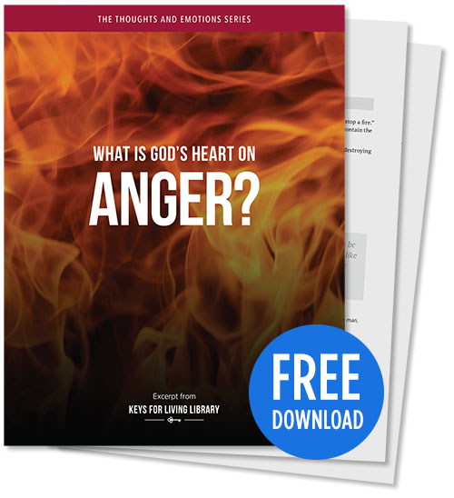 What is God's Heart on Anger? - PDF