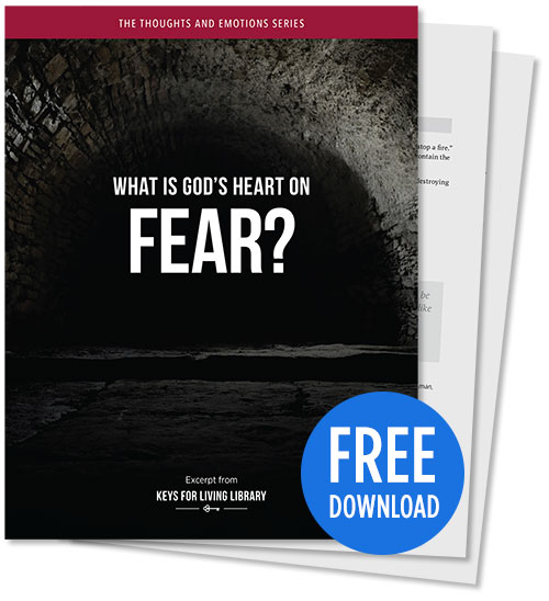What is God's Heart on Fear? - PDF