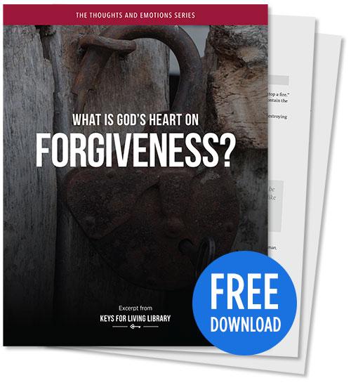 What is God's Heart on Forgiveness? - PDF