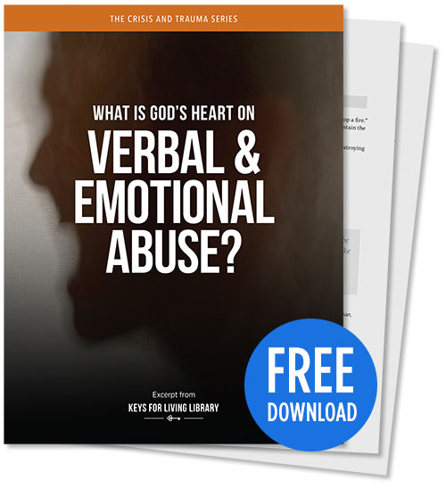 What is God's Heart on Verbal & Emotional Abuse? - PDF